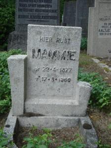 Markante zerken van de begraafplaats